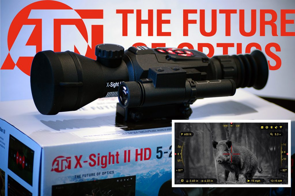 ATN X Sight II HD 5-20x