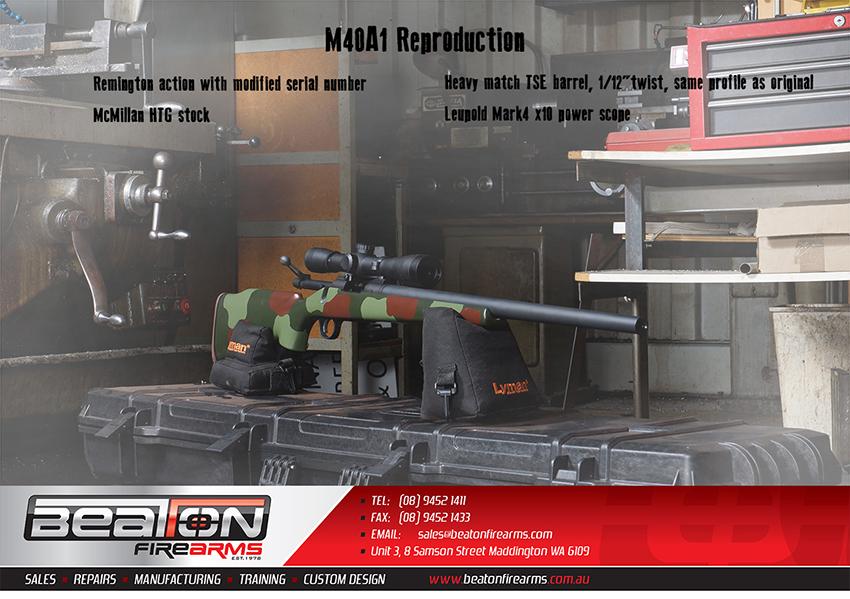 M40A1 Reproduction | Beaton Firearms