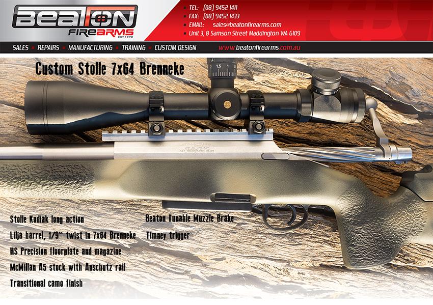 Custom Stolle 7×64 Brenneke | Beaton Firearms