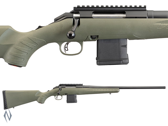 Ruger American Predator Rifle With AR Style 10 Round Magazine
